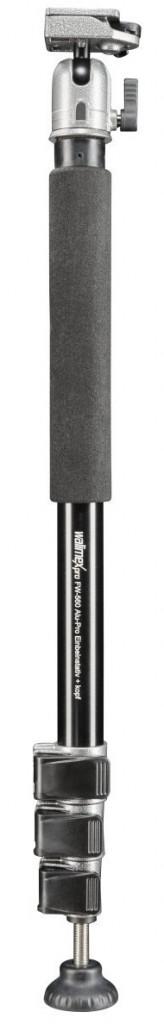 Walimex Pro FW-560 Alu-Pro Einbeinstativ und Kopf